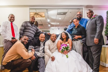 Chanee + Marcus Maryland wedding